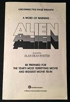 ALIEN (SIGNED ORIGINAL UNCORRECTED PAGE ...