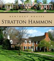 Kentucky Houses of Stratton Hammon