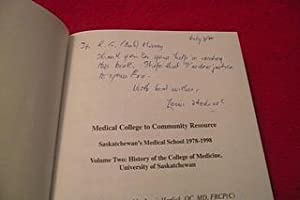 Medical College to Community Resource 1978-...